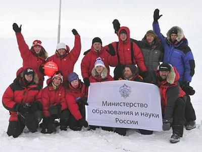 На лыжах – к Северному полюсу!